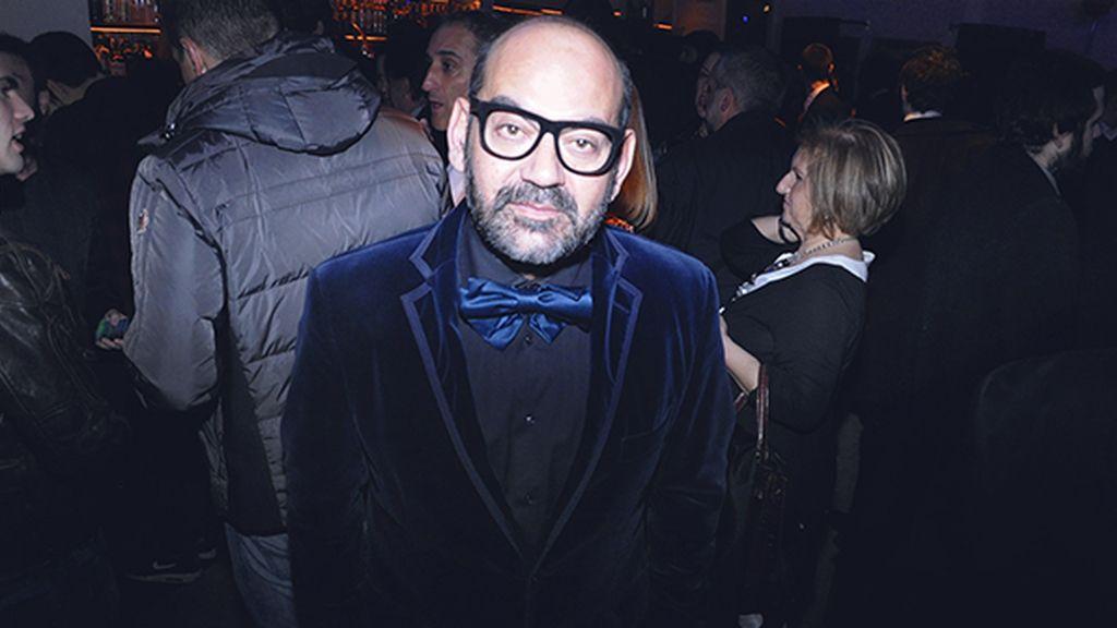 Siempre fiel a su personal estilo vimos a José Corbacho