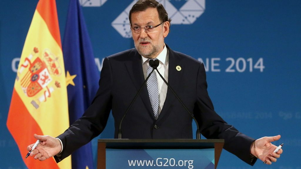 Mariano Rajoy en la cumbre del G20 en Australia