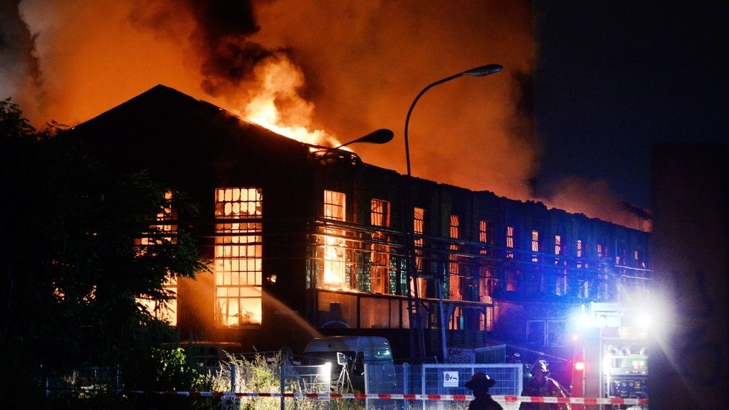 Incendio en Berlín