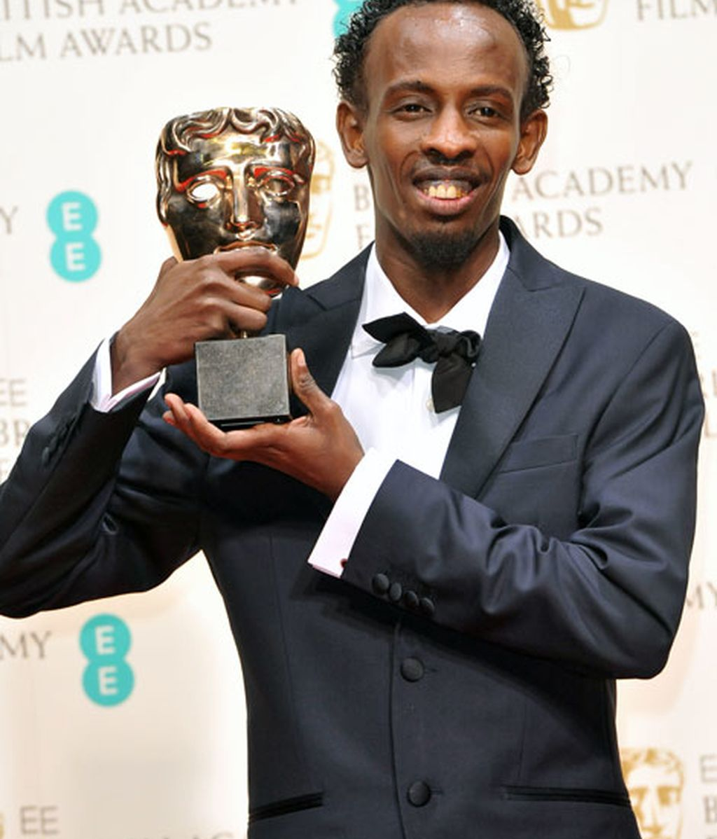 Barkhad Abdi, mejor actor de reparto por 'Capitán Phillips'