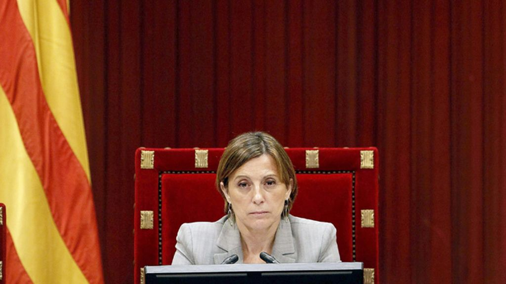 Presidenta del Parlament, Carme Forcadell