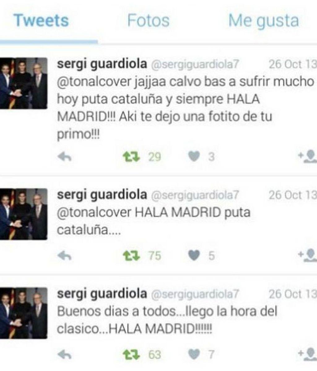 Tuits Sergi Guardiola