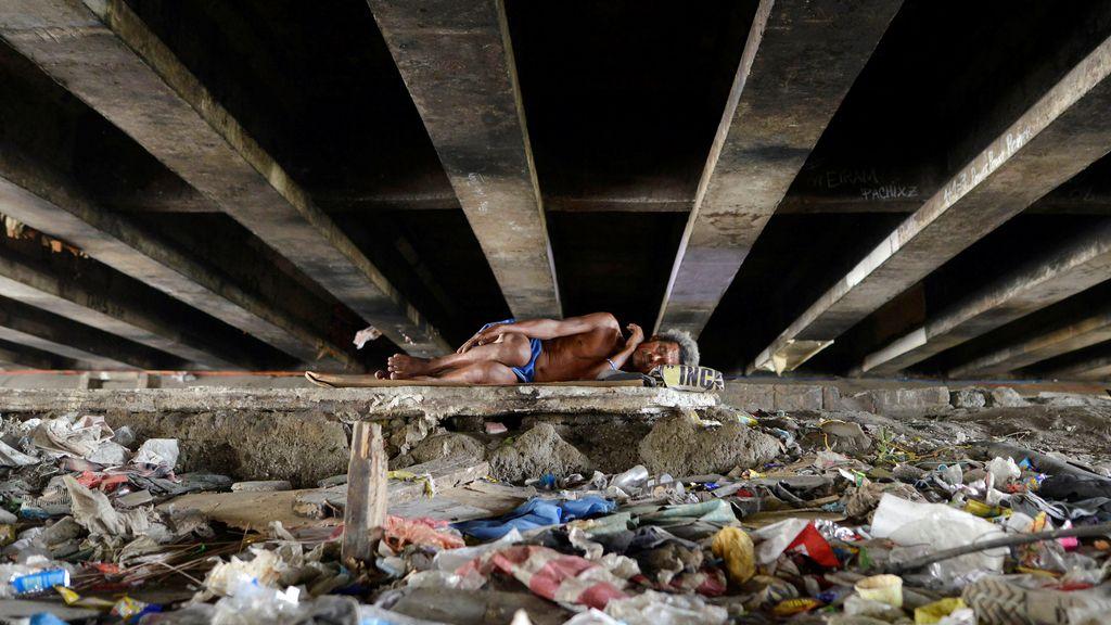 Sin techo en Filipinas
