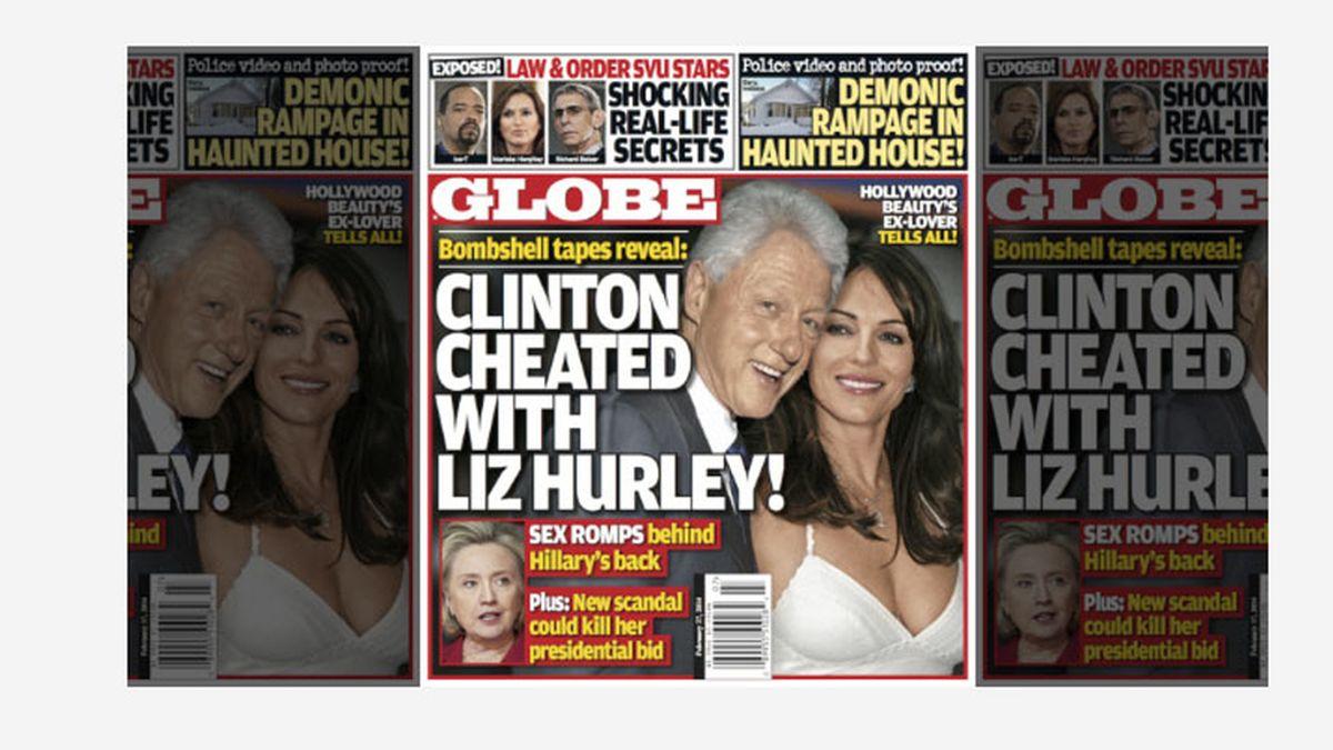 Rumores de una relación entre Bill Clintos y Elizabeth Hurley