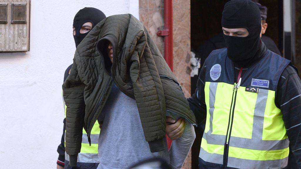 Detenidos dos terroristas yihadistas