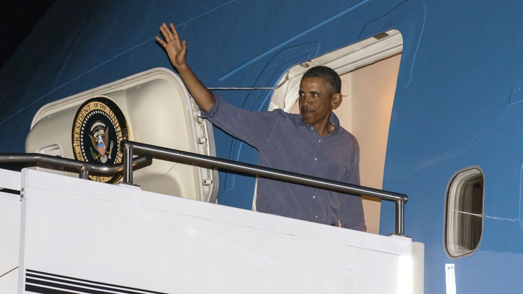 Obama regresa a Washington