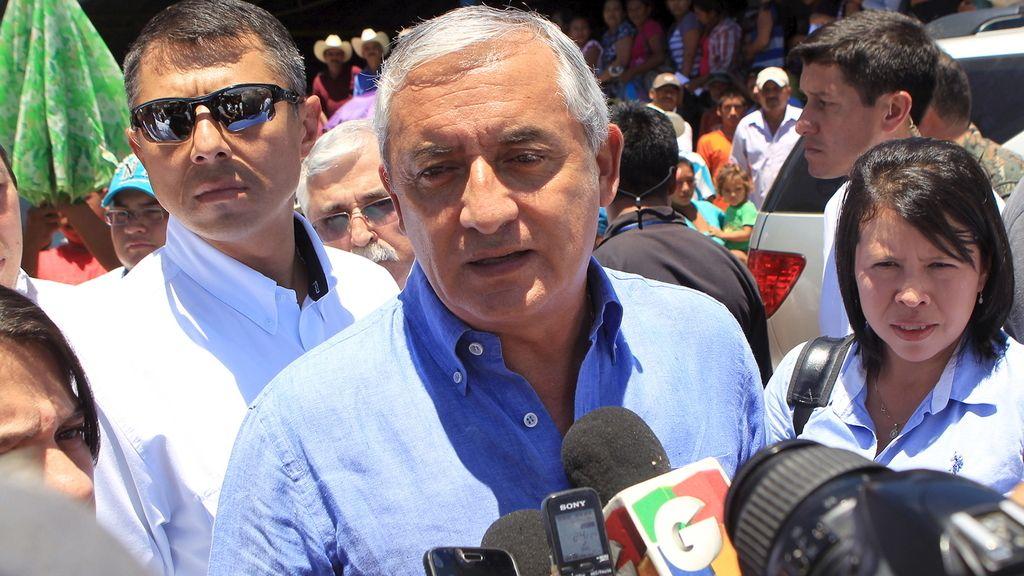 El presidente de Guatemala Otto Pérez Molina en una imagen de archivo