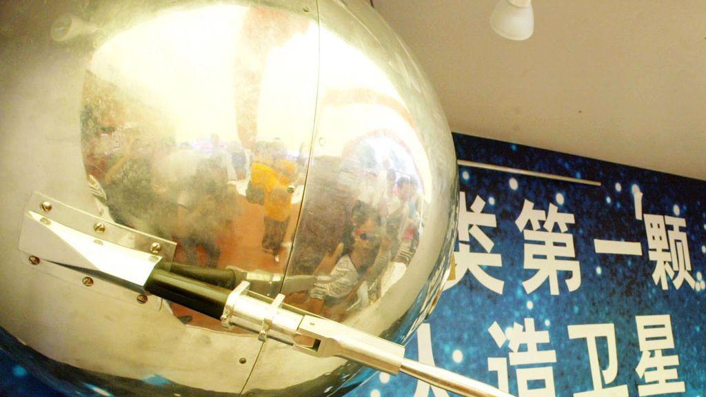 El satélite Sputnik 1 expuesto hace varios años en China