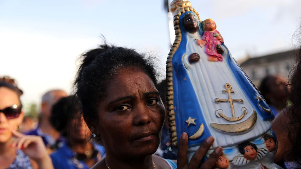 Celebración de la Virgen de Regla en Cuba