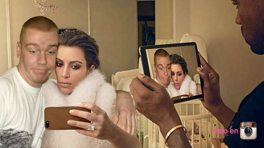 La reina de los selfies tiene que compartir espacio con el rey del Photoshop