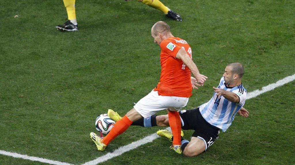 Mascherano Robben