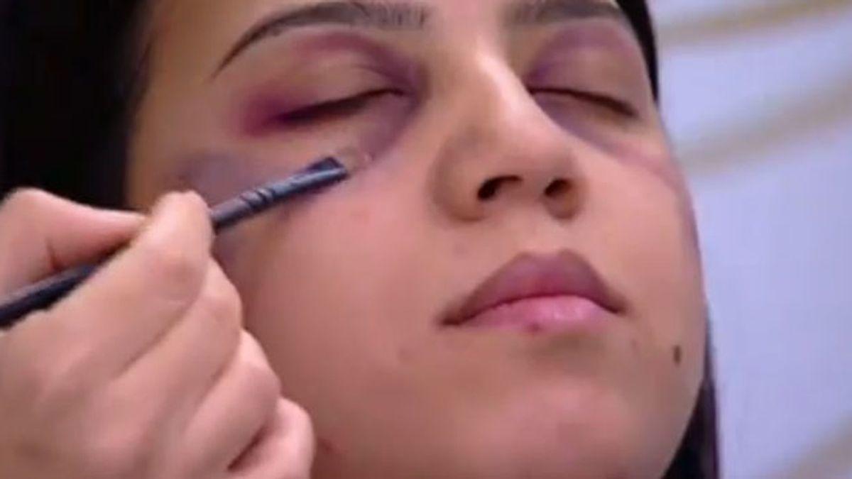 Consejos de maquillaje de la tele marroquí para disimular golpes en mujeres maltratadas