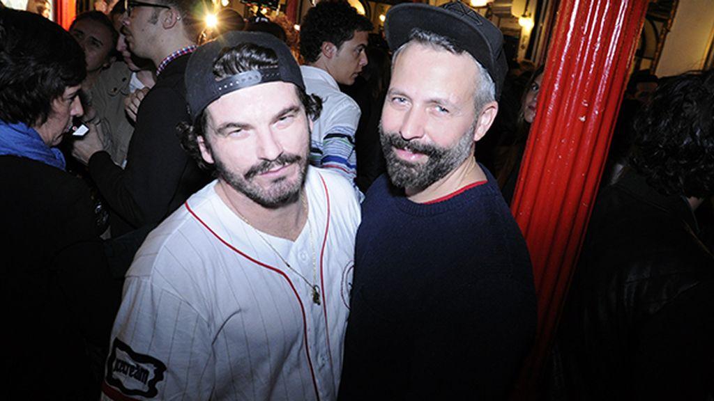 El fotógrafo Valero Rioja y Pedro Melo