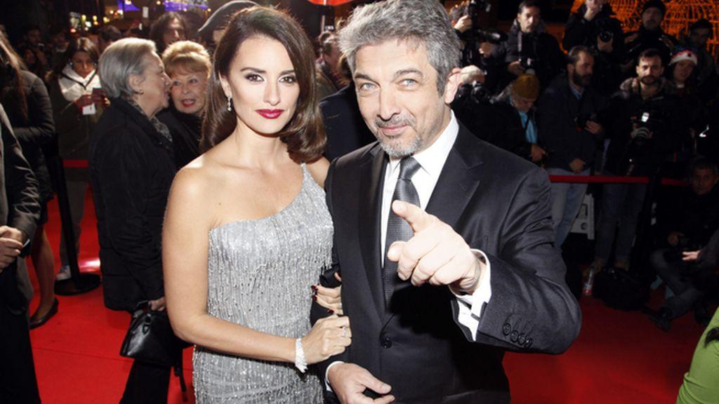 """Penélope Cruz y Ricardo Darín en la premiere de """"La reina de España"""""""