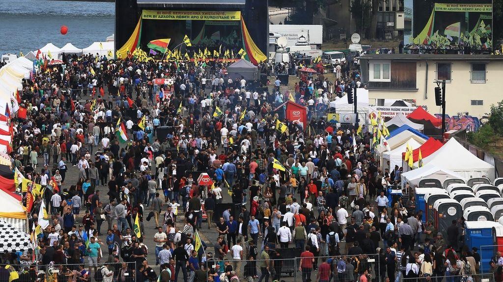 Kurdos en Colonia