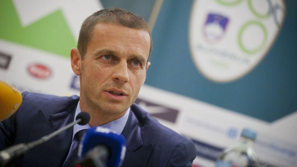 Aleksander Ceferin, UEFA, Michael Platini