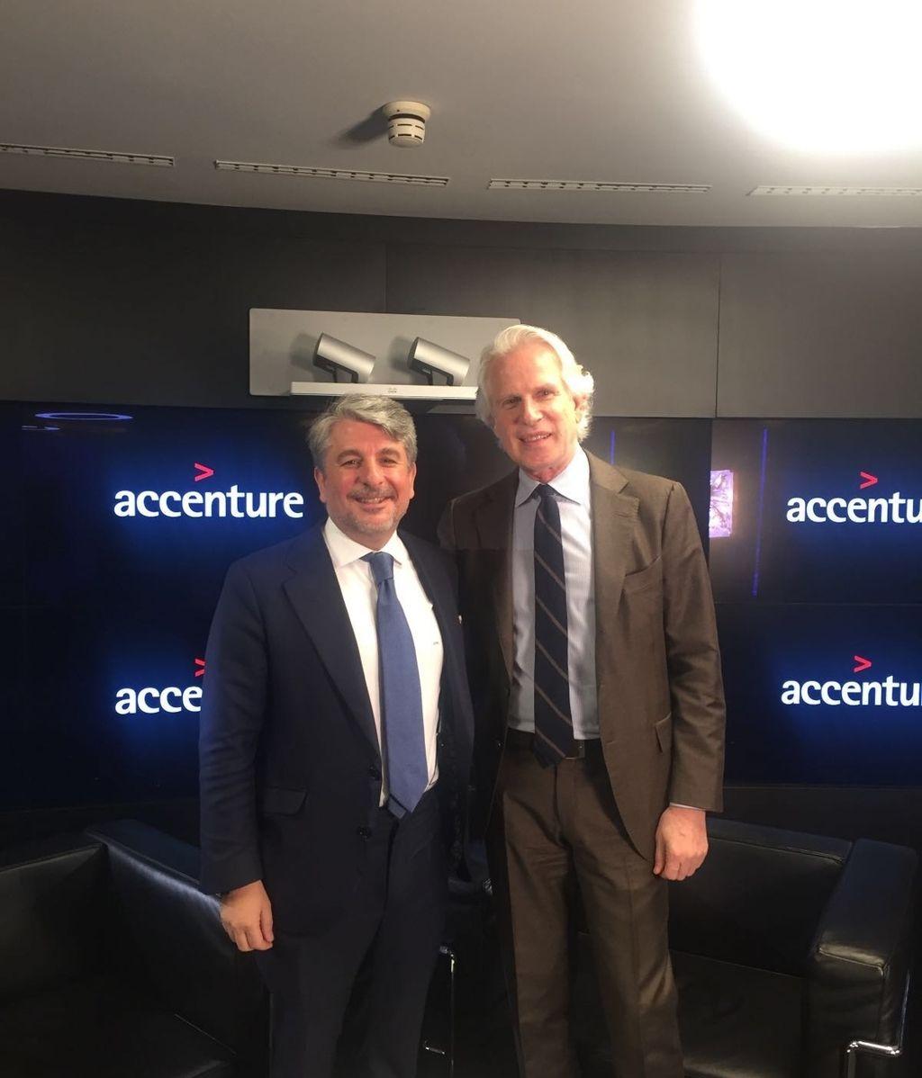 Juan Pedro Moreno, Presidente de Accenture