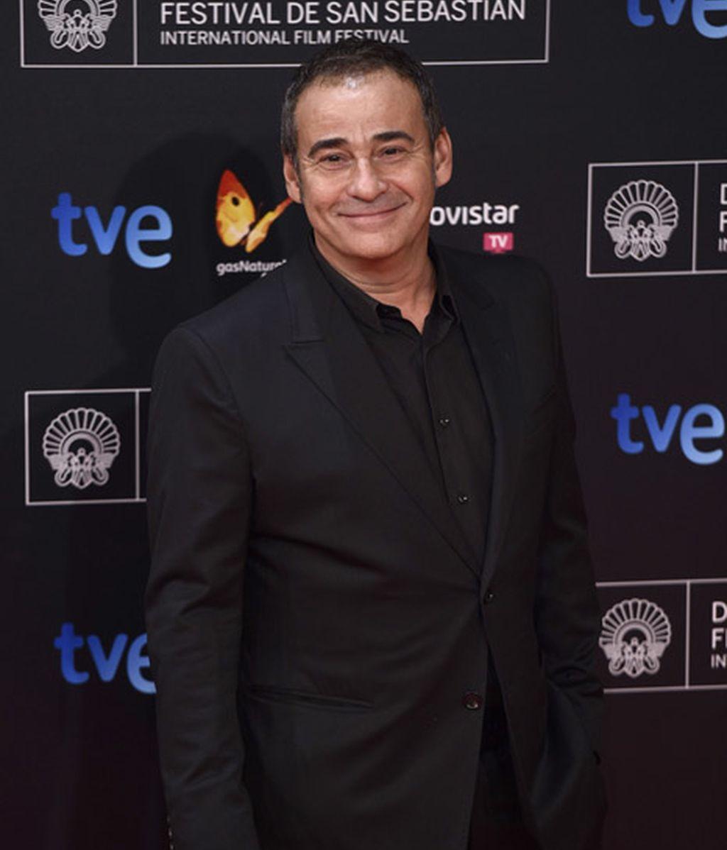Eduard Fernández no se perdió la gala