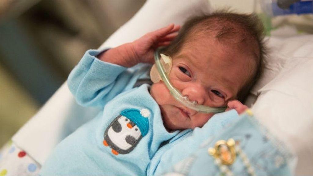 Angel nacio gracias a una cesárea mientras su madre estaba en muerte cerebral