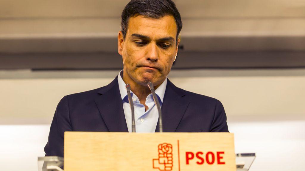 Pedro Sánchez, lider del PSOE