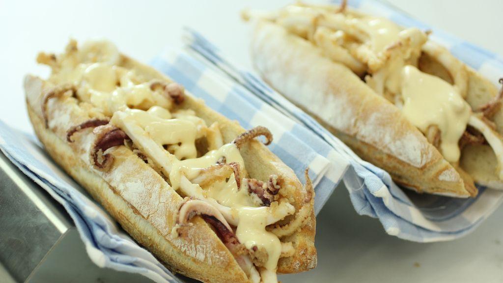 Bocata de calamares de 'Robin Food'