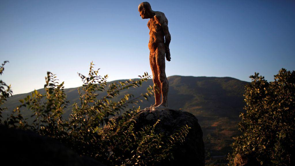 Escultura en honor a las víctimas franquistas