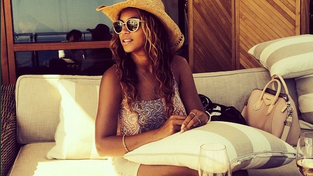 ¿Retoca Beyoncé sus fotos de Instagram?