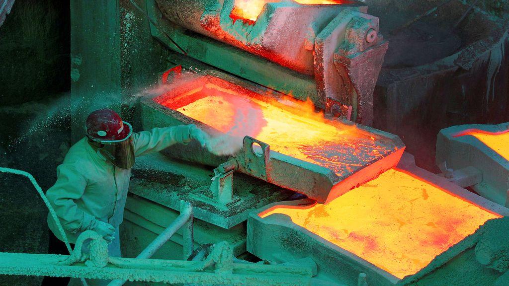 La refinería del cobre al descubierto