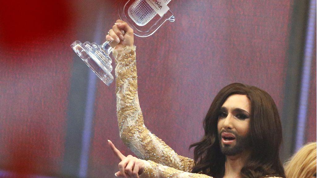 Conchita Wurst gana el festival de Eurovisión