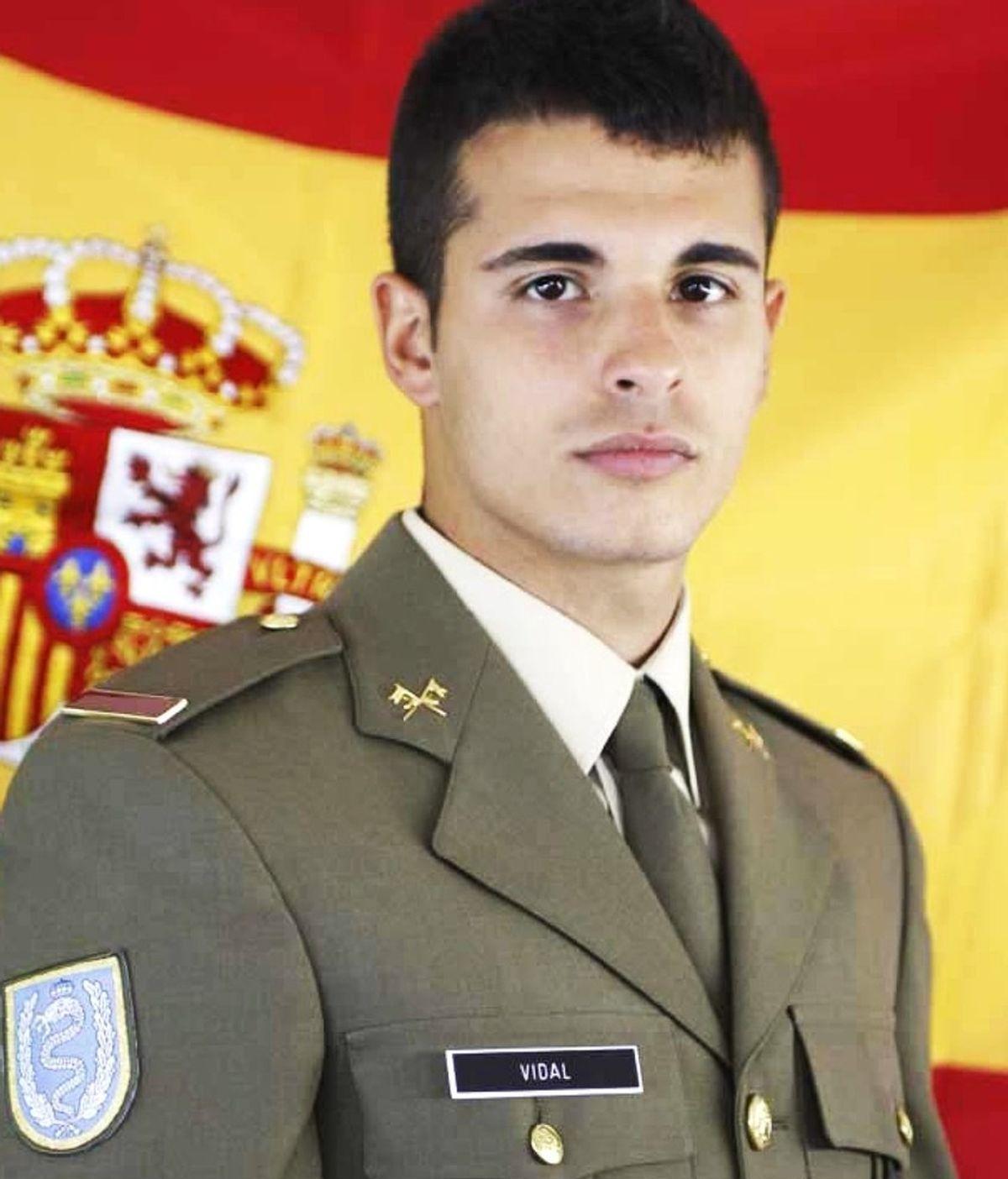 El soldado Aarón Vidal, fallecido en un accidente de tráfico en Irak
