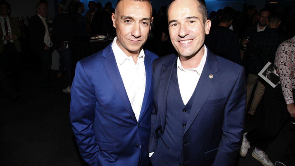 David García y Manuel García, los protagonistas de este X aniversario