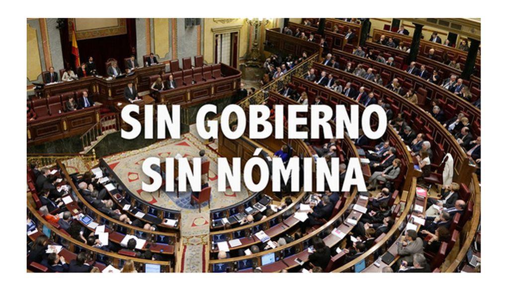 Más de 55.000 firmas para que los políticos dejen de cobrar hasta que haya Gobierno