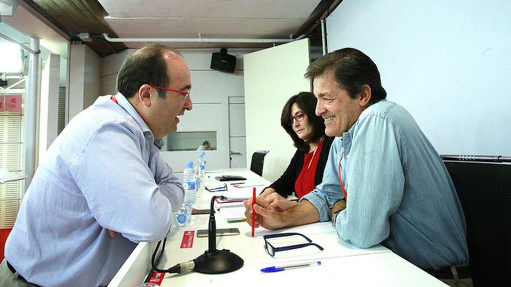 Miquel Iceta y Javier Fernández