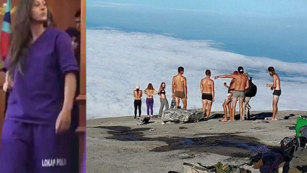 """Cinco turistas detenidos por desnudarse en una montaña sagrada y """"perturbar a los dioses"""""""