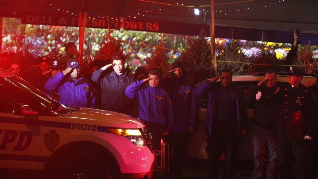 Tiroteo policías Nueva York