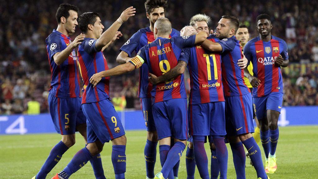 El Barça abruma en su estreno camino a Cardiff