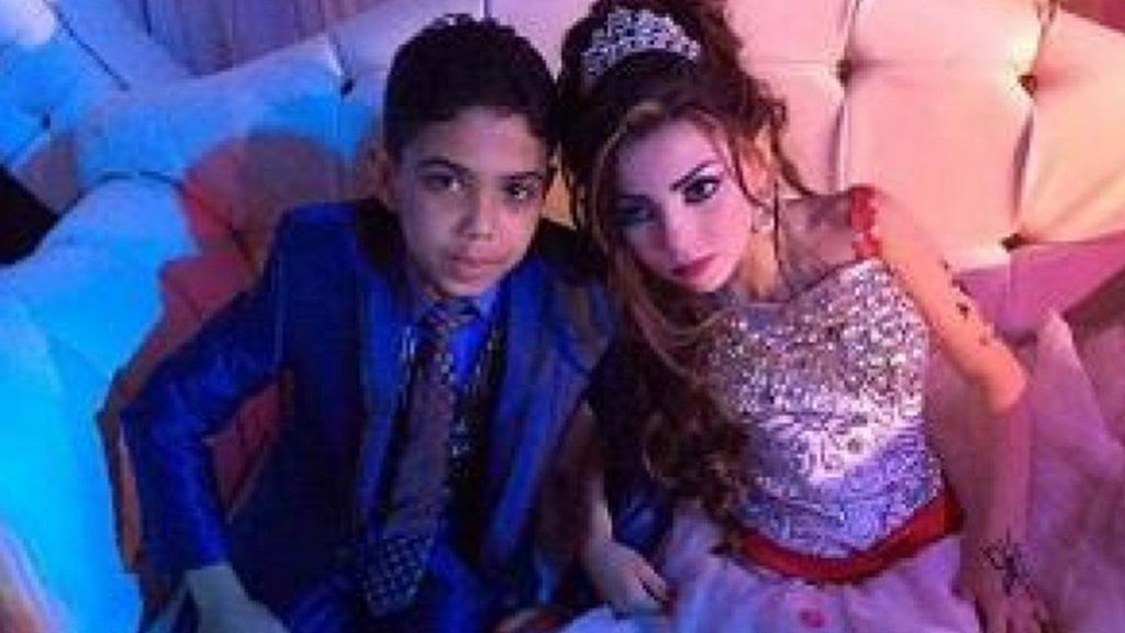 boda niños egipto 2