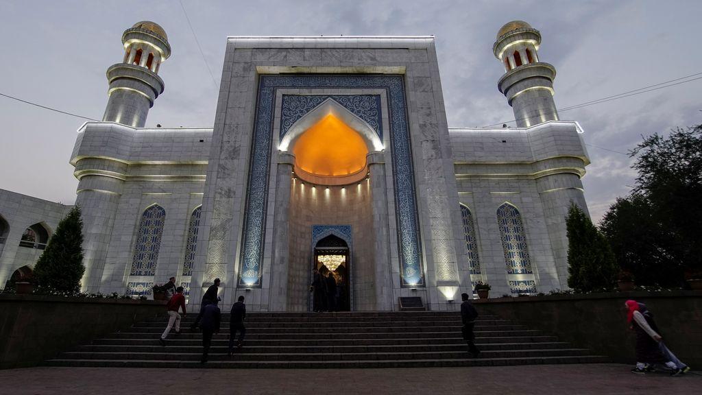 La Mezquita Central de la oración, punto de encuentro