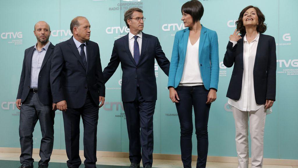 Debate a cinco por las elecciones gallegas