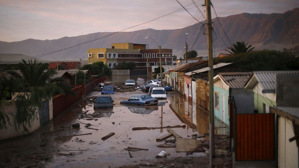 Las lluvias torrenciales dejan 14 muertos en Chile