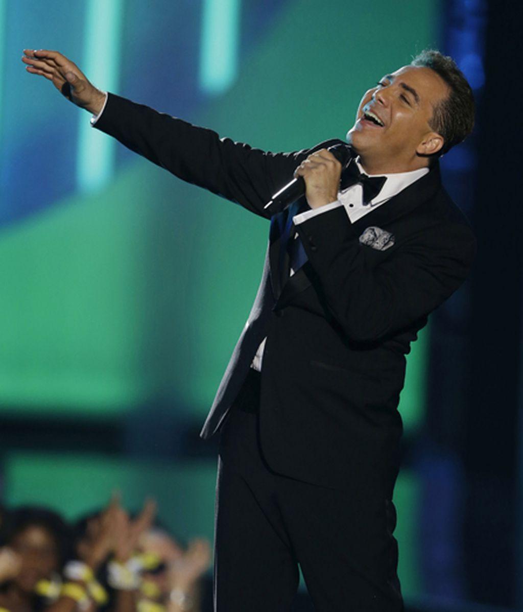 El cantante mexicano Cristian Castro