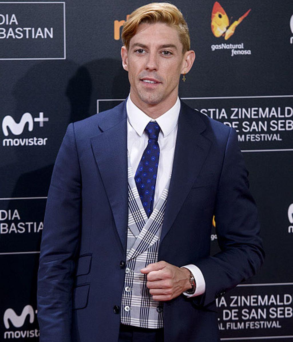El actor y músico español Adrián Lastra no quiso perderse el festival