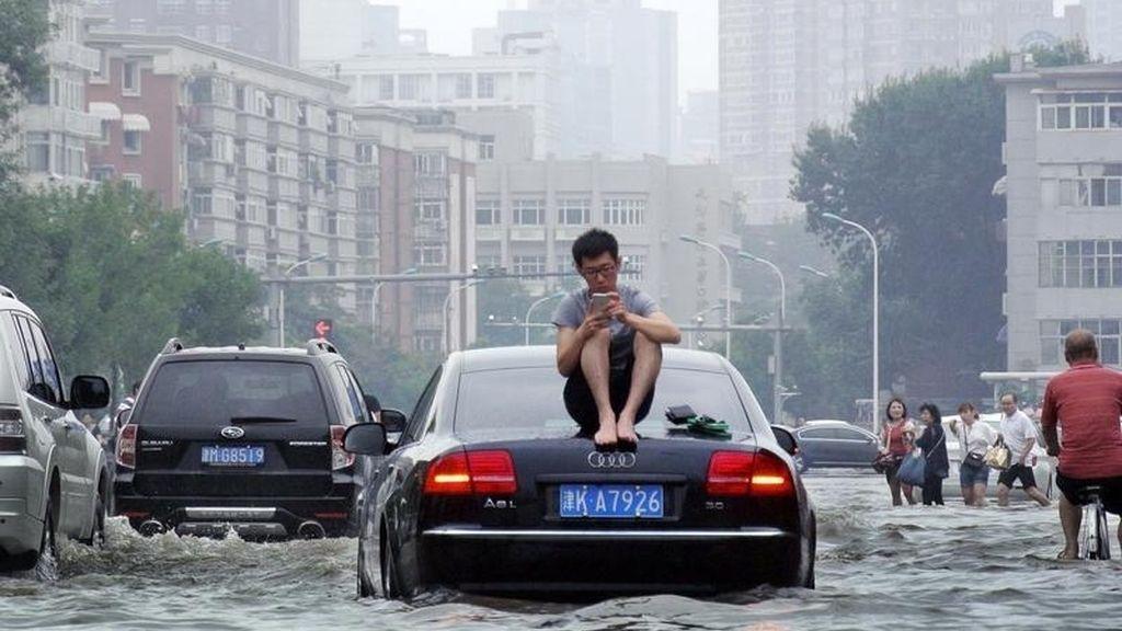 Las lluvias torrenciales provocan importantes inundaciones en China