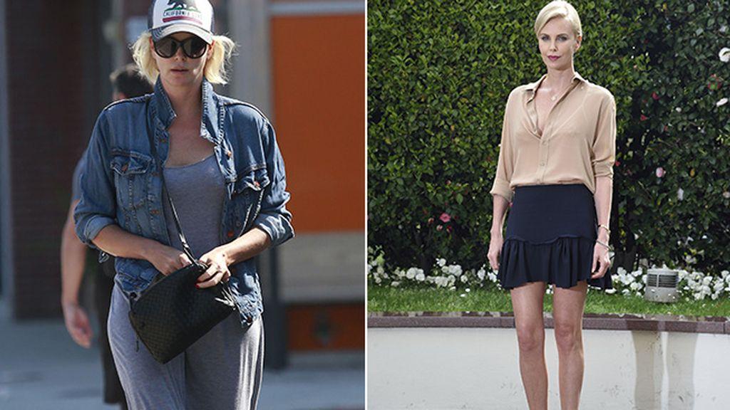 Charlize Theron engorda 15 kilos por exigencias del guión