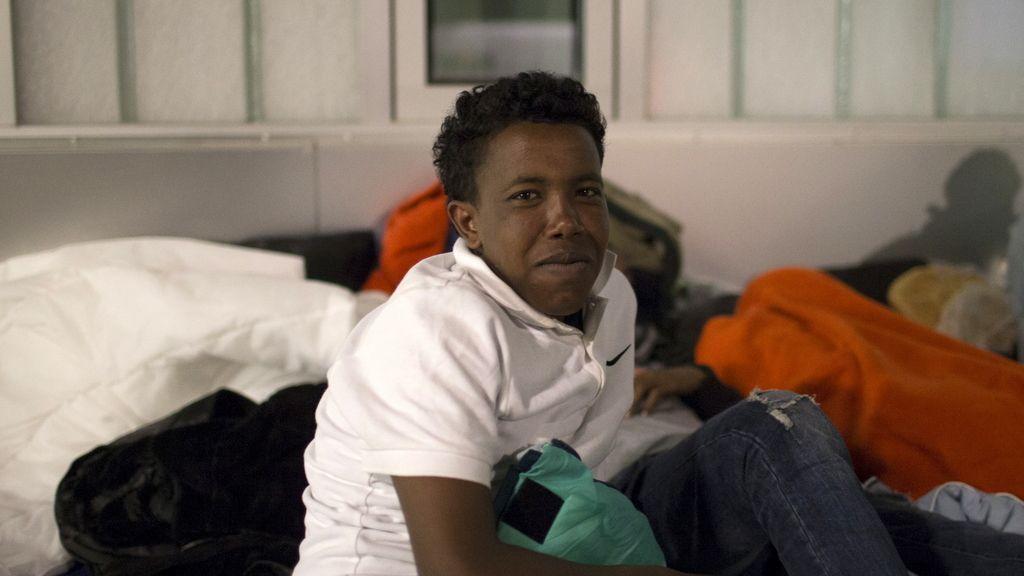 Refugiado eritreo en Berlín