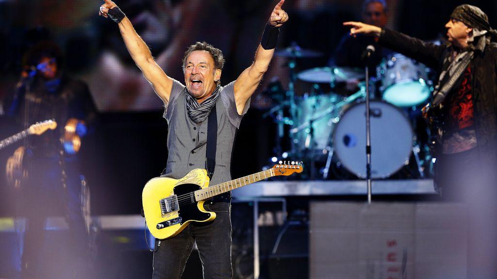 Bruce Springsteen da un concierto en Madrid