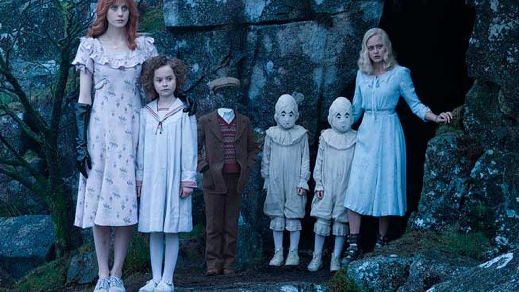 Del imaginario de Tin Burton, los niños particulares