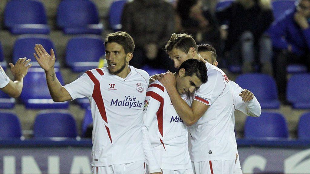 El Sevilla se impone al Levante