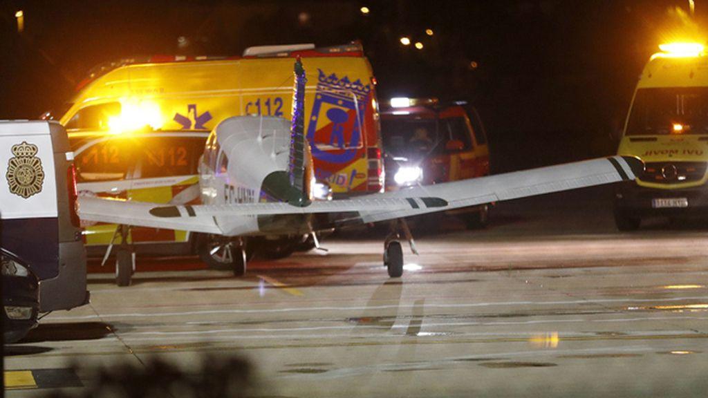 Dos muertos en un accidente de avioneta en el Aeropuerto de Madrid-Cuatro Vientos