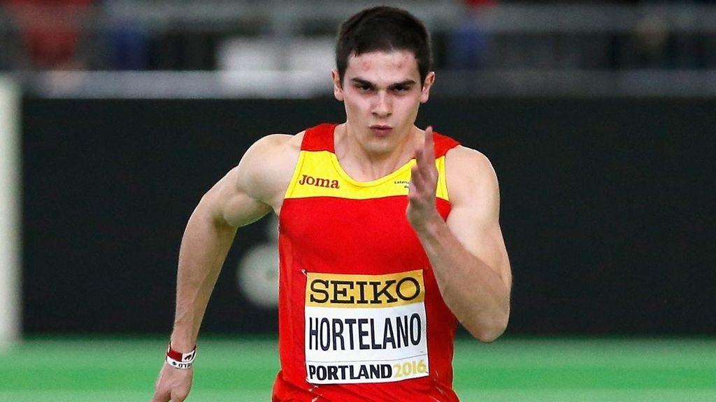 Bruno Hortelano, Atletismo